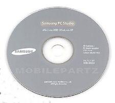 Genuine Samsung PC Studio Software V 3.12 for E250 E900 E970 Z400 XP Compatible