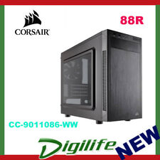 Corsair Carbide 88R Micro ATX Gaming Case Quiet Mid Tower Side Panel Window