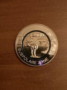 5 Euro Münze Deutschland Polymerring 2020 Subpolare Zone aus Rolle Prägestätte D