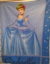 ~ Disney Cinderella - BLANKET GENUINE DISNEY LISENCED POLAR FLEECE THROW BED