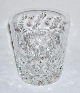 ROGASKA ~ Vintage Crystal 10 Oz. DOUBLE OLD FASHIONED GLASS (Gallia) ~ Slovenia