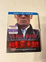 Black Mass w/ Slipcover (Bluray/DVD, 2015) [BUY 2 GET 1]