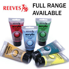 Reeves Tubes Acrylic Paints
