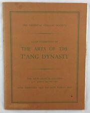 Art Exhibition Catalogue 1955 T'Ang Dynasty Arts Chinese Ceramics London