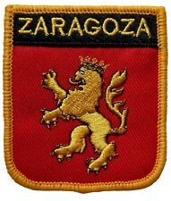 Zaragoza Spain Shield Embroidered Patch