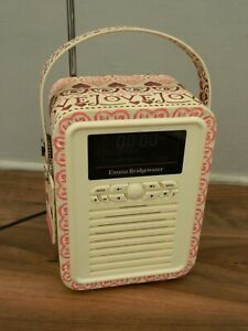 View Quest Emma Bridgewater Retro Mini DAB Radio Bluetooth Speaker
