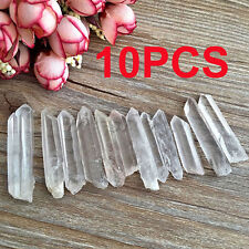 New 10Pc Delicate Natural Quartz Wand Specimen Points Scrub Tibet Crystals 3-5cm