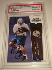 2000 Playoff Contenders autograph Michael Wiley rookie ticket signature card#139