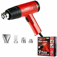 Dekton 1500w Hot Air Heat Gun With Nozzles Paint Stripping Varnish Stripper Tool