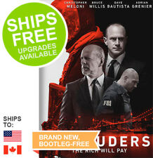 Marauders (DVD, 2016) NEW, Bruce Willis, Christopher Meloni, Dave Bautista