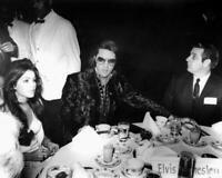Elvis Presley & Priscilla Presley at Reception 1970 8x10 Photo E-175