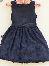 Navy Blue Dress With Sequins Girls Age 12 Brand Cinderella Couture