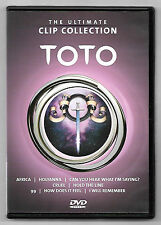 DVD / THE ULTIMATE CLIP COLLECTION TOTO ( MUSIQUE CONCERT )