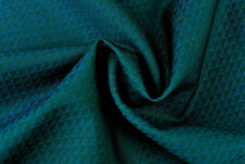 E161 ROYAL BLUE  LUXURY FINE 150's PURE WOOL 2 TONE DIAMOND WEAVE MADE IN ITALY