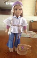 American Girl Doll Julie (Retired) And Meet Outfit and Accessories