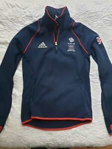 Women Adidas Support Team GB London Olympic 2012 Polyester Jumper