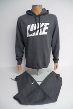 Nike Mens Jogging Tracksuit, Large, Grey L Hoodie & M Bottoms, VGC