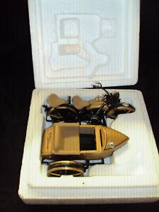 Harley-Davidson 1933 Motocycle/Sidecar Bank Ultra Edition Gold And Black