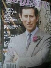 Majesty Magazine V6 #7 Charles, Diana's Charities, Royal Dukes William At School