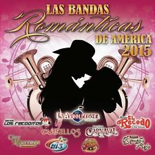 Various Artists, Var - Bandas Romanticas de America 2015 / Various [New CD]