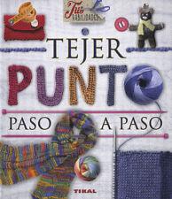TEJER PUNTO PASO A PASO. NUEVO. Nacional URGENTE/Internac. económico. MANUALIDAD