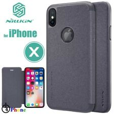 Original Nillkin congelado Shield negro carcasa para iPhone 8