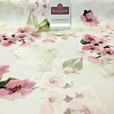 Rose Pink Matt Floral peach skin Silky Satin Printed Fabric 150 Cm MQ1081-5