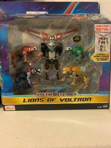 Dreamworks Lions of Voltron Legendary Metal Defender Diecast Set of 5 EXCLUSIVE.