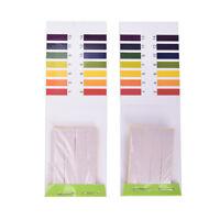 2Pcs 80 Strips PH Teststreifen Aquarium Teich Wasser Test Papier Litmus Test DDE