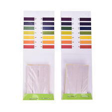 2x 80 Strips PH Test Strips Aquarium Pond Water Testing Test Paper Litmus Tests>