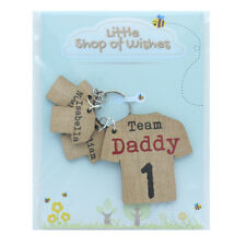 Fathers Day Gift Football Keyring Rugby Shirt Personalised Daddy Dad Grandad ANY