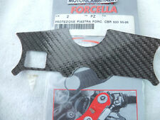 HONDA MOTO CBR 600 95/98 Protezione Carbon look Piastra Sterzo forcella CBR600