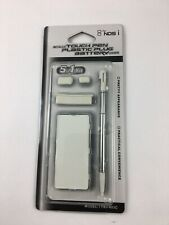 New White Metallic Nintendo DSi TWL-001 Compatible Stylus Pen Battery Dust Cover