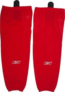 Reebok Edge SX100 Intermediate Hockey Socks RED (A6 b) BRAND NEW