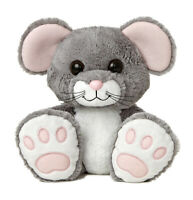 """10"""" Scurry Mouse Taddle Toes Aurora Plush Stuffed Animal"""