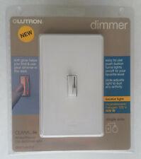 Lutron Ceana Digital Fade Dimmer CN-600PHW-WH Single Pole, White, New