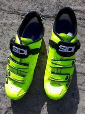 Sidi Alba Road cycling shoes, yellow/black, Size EU 45