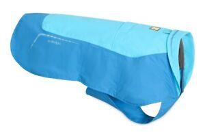 """Ruffwear Vert Waterproof Windproof Dog Jacket Blue Atoll Size Small 22-27"""""""