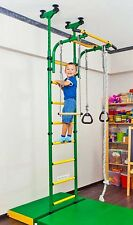 Playground, Gym for Kids, Gymnastic Rings, Rope Trapeze Bar, Steps Indoor Sport