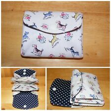 Billie & Friends Cath Kidston Fabric 3 Compartments Handmade Coin Purse