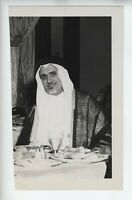 1946 ORIGINAL SAUDI ARABIA UNITED NATIONS  Shaikh Ibrahim Suleiman VICEROY PHOTO