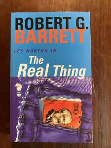 The Real Thing - Les Norton Series #2 by Robert G. Barrett Small PB
