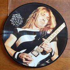 """Talking To Iron Maiden - Interview 7"""" Picture Disc Part 2"""