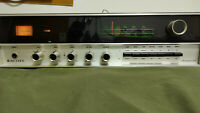 Scott AM-FM Stereomaster Receiver 636 Vintage Wood Sides/top Silver Face Audio