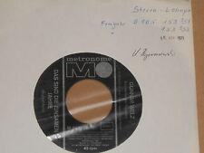 """GUNNAR WELZ -Das sind die einsamen Jahre- 7"""" 45 Metronome Archiv mint"""