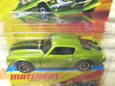 MATCHBOX 2009 LESNEY EDITION SUPERFAST Metal Base 1971 Chevrolet Camaro Z28 NIB*