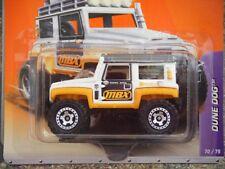 MATCHBOX 2011 #70/75 DUNE CANE SABBIA Buggy BIANCO E ARANCIONE