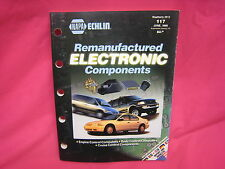 NAPA  ECHLIN REMANUFACTURED ELECTRONIC COMPONENTS PARTS CATALOG1999 (N-91)