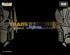 Sons of Cybertron Henkei Clear Optimus Prime & Rodimus