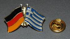 FREUNDSCHAFTSPIN 0066 PIN ANSTECKER DEUTSCHLAND / GRIECHENLAND FAHNE PINS NEU